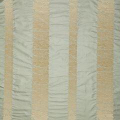 F Schumacher Mandarin Silk Stripe Ocean Mist 64432 Indoor Upholstery Fabric