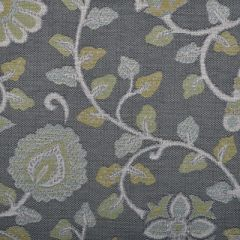 Duralee Akbar Grey by John Robshaw 15459-15 Indoor Upholstery Fabric
