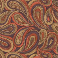 Sunbrella by Mayer Boteh Orange Blaze 414-009 Imagine Collection Upholstery Fabric