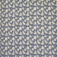 Ralph Lauren Belgrade Batik Flora Indigo LCF65282F Indoor Upholstery Fabric