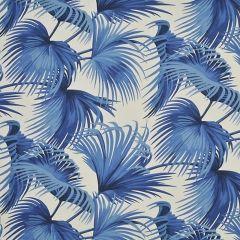Ralph Lauren Costa Tropica Palm Ultramarine LCF68119F Harbour Island Outdoor Collection Upholstery Fabric