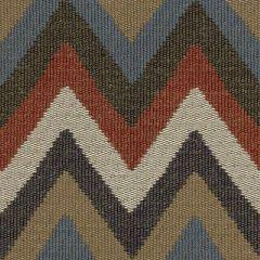 Kravet Couture Artisan Chevron Indigo 32348-519 Indoor Upholstery Fabric