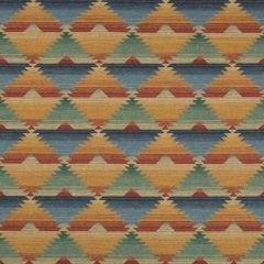 Lee Jofa Dinetah Wool Multi / Spice 2017127-539 Lodge II Weaves and Embroideries Collection Multipurpose Fabric
