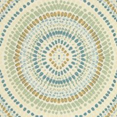 Kravet Painted Mosaic Vapor Blue 32987-1516 Indoor Upholstery Fabric