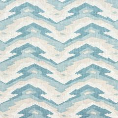 Thibaut Deco Mountain Aqua F913107 Summer House Collection Multipurpose Fabric