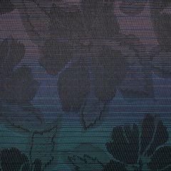 Phifertex Jacquards Wild Orchid Black Z44 54-inch Sling Upholstery Fabric