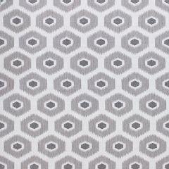 Sunbrella Thibaut Geode Ikat Heather Grey W80375 Calypso Collection Upholstery Fabric