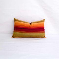 Indoor/Outdoor Sunbrella Astoria Sunset - 20x12 Horizontal Stripes Throw Pillow (quick ship)