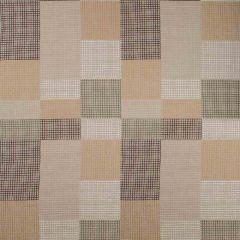 Groundworks Gridlock Moccasin by Kelly Wearstler Multipurpose Fabric