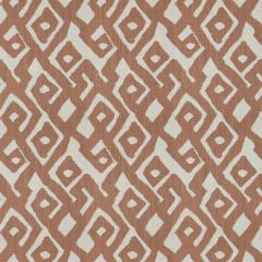 Fabricut Kuba Maze Coral Clay 4278 Multipurpose Fabric