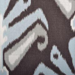 Duralee Sulu-Aqua/Cocoa by John Robshaw 21041-680 Decor Fabric