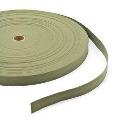"Patio Lane Vat-Dyed Untreated Class 3 Cotton Webbing Type I 1"" Olive Drab Shade #7 (100 yards)"