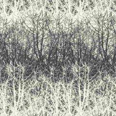 F-Schumacher Birches-Black/White 2707243 Luxury Decor Wallpaper