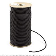 Patio Lane Nylon Elastic Cord #16448 1/8 inches x 300 feet Black