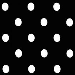 Premier Prints Polka Dot Black White Premier Basics Collection Multipurpose Fabric