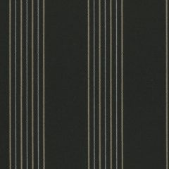 Tempotest Molto Bene 1037/24 Black/Yellow/White Striped Indoor-Outdoor Upholstery Fabric