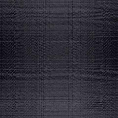 Sunbrella Checks Connor Black CHE F056 140 European Collection Upholstery Fabric
