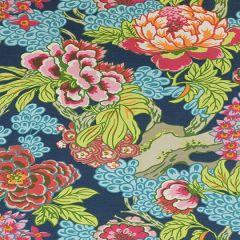 Thibaut Honshu Navy F975488 Dynasty Collection Multipurpose Fabric