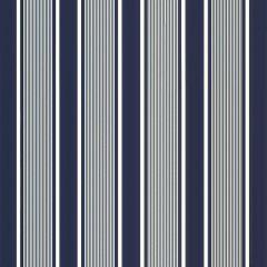 Ralph Lauren Sunbrella Super Yacht Stripe Navy LFY66671F Upholstery Fabric