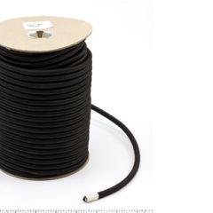 Patio Lane Polypropylene Covered Elastic Cord #M-5 5/16 inches x 150 feet Black