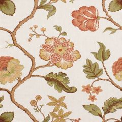 Kravet Couture Floral Mandarin 3572-312 Modern Colors Collection Drapery Fabric