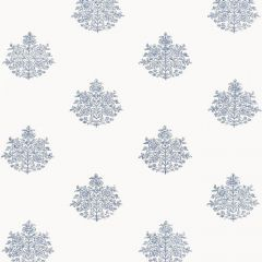 F-Schumacher Asara Flower-Delft 5005321 Luxury Decor Wallpaper