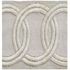 Kravet Couture Grecian Braid Grey Frost T30563-11 Calvin Klein Collection Finishing