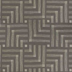 Groundworks Pastiche Mocha / Cream GWF-3726-811 by Kelly Wearstler Multipurpose Fabric