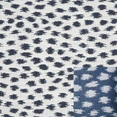 Sunbrella Agra Indigo 145147-0000 Fusion Collection - Reversible Upholstery Fabric (Light Side)
