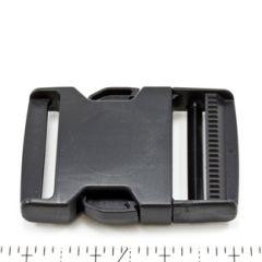 Fastex Side Release Buckle 2 inch Delrin Black