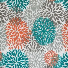 Premier Prints Blooms Pacific Indoor-Outdoor Upholstery Fabric