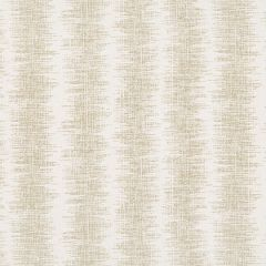 Sunbrella Thibaut Danube Ikat Stripe Flax W80544 Oasis Collection Upholstery Fabric