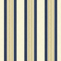 Kravet Smart Navy/Gold 33356-516 Soleil Collection Upholstery Fabric