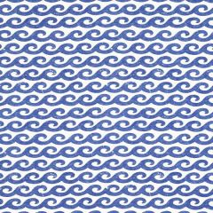 Thibaut Shore Thing Navy F916026 Resort Collection Multipurpose Fabric