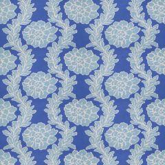 Stroheim Peony-Periwinkle Blue by Dana Gibson 4688001 Luxury Decor Fabric
