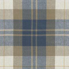 Ralph Lauren Summer Cottage Plaid Vintage Blue LCF65527F Artiste de la Mer Collection Indoor Upholstery Fabric