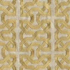 Kravet Couture Ceylon Key Spungold 31459-416 Indochine Collection by Barbara Barry Indoor Upholstery Fabric
