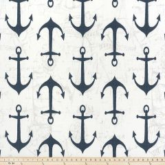 Premier Prints Anchor Oxford / Luxe Polyester Indoor-Outdoor Upholstery Fabric