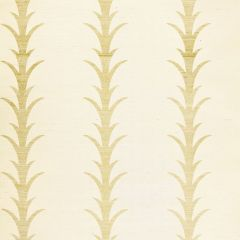 F-Schumacher Acanthus Stripe-Filigree 5006051 Luxury Decor Wallpaper