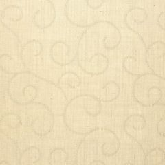 F-Schumacher Adhafera Scroll-Oatmeal 5003540 Luxury Decor Wallpaper