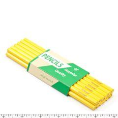 Patio Lane Fabric Marking Pencils Yellow Lead 72 per pack