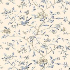 F-Schumacher Annabelle Vine-Porcelain 5004401 Luxury Decor Wallpaper