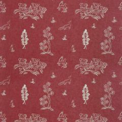 Kravet Couture Friendly Folk Huntsman Red AM100318-19 Kit Kemp Collection by Andrew Martin Multipurpose Fabric