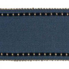 Kravet Cable Edge Band Indigo T30733-5 Finishing