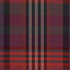 Sunbrella Checks Edward Red CHE F057 140 European Collection Upholstery Fabric