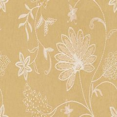 Kravet Couture Hand Embroidery Saffron 3574-4 Modern Colors Collection Drapery Fabric