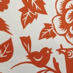 Duralee Aviary-Tangerine by Thomas Paul 20874-35 Decor Fabric
