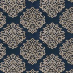Fabricut Dubois-Indigo 1008001  Decor Fabric