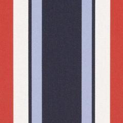 Ralph Lauren Sunbrella Dock Landing Stripe Admiral LCF66395F Upholstery Fabric