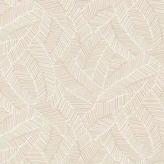 F-Schumacher Abstract Leaf-Linen 5007530 Luxury Decor Wallpaper